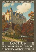 Chemin De Fer De Paris A Orleans Loches