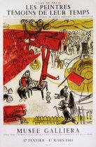 Les Peintres Temoins De Leur Temps <br>Marc Chagall<br>Musee Galliera