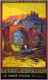 Le Lot a Espalion <br>Le Ponte Vieux