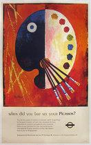 London Underground - Picassos
