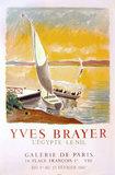 Galerie de Paris Yves Brayer <br> L&#39;Eygpte Le Nil