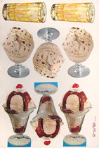 American Die Cut Ice Cream Assortment