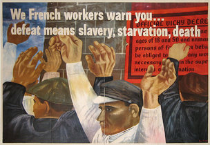 French Workers Warn You...Defeat Means Slavery...