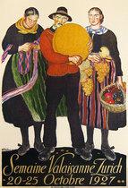 Semaine Valaisanne Zurich 1927
