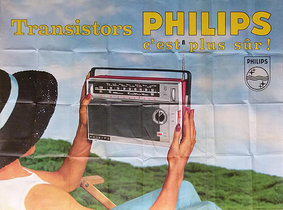 Philips Transistor Radio (Photographic)