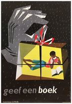 Geef een Boek (Hand with Gift)