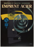 Emprunt Acier (Yellow Car 47x63)