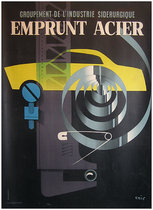 Emprunt Acier (Yellow Car 23x31)