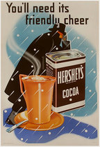 Hershey's Cocoa You'll Need Its Friendly Cheershey