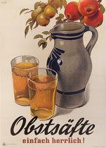 Obstsafte - einfach herrlich!  (Fruit Juice - just lovely!)