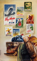 KLM Fly There (Posters on the Wall)