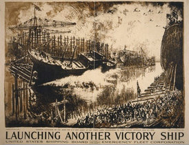 Launching Another Victory Ship