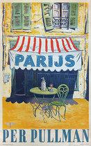 Parijs per Pullman (Paris by Pullman/Cafe Scene)