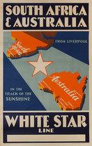 South Africa & Australia White Star
