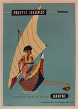 Qantas Pacific Islands 1/4 Sheet