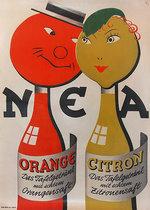 NEA  Orange and Citron