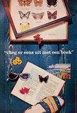 Vlieg er een uit met een boek (Dutch Book Week/Butterflies)