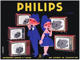 Philips Blushing TV Couple