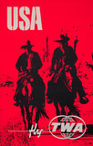 TWA USA Cowboys (Silkscreen)