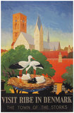 Visit Ribe in Denmark The Town of Storks