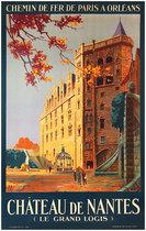 Chateau de Nantes (Le Grand Logis) Chemin De Fer De Paris A Orleans