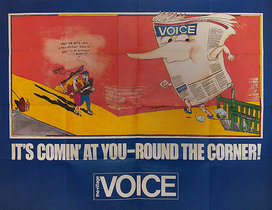 Village Voice It's Comin' At You Round the Corner