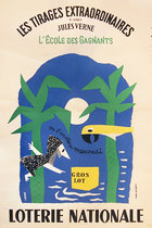 Loterie Nationale Loterie Nationale Les Tirages Extraordianeires Jules Vern (Island)