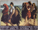 British Empire Exhibition (Ireland Seaweed Gatherers)