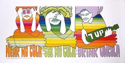 7Up - Hear No Cola, See No Cola, Drink UnCola