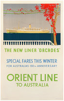 Orient Line to Australia The New Liner