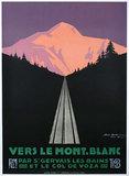 Vers Le Mont Blanc Dawn