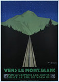 Vers Le Mont Blanc Night                                                 Vers Le Mont Blanc Night
