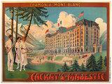 Chamonix Mont Blanc Cachat's-Majestic (Summer Scene)