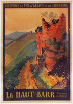 Chemins De Fer D'Alsace et de Lorraine Le Haut Barr
