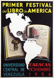 Primer Festival del Libro de America (First Festival of the Book of America) Caracas