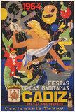 Cadiz 1964 Fiestas Tipicas Gaditanas