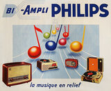 Philips La Musique en Relief (Music Notes & Radios)