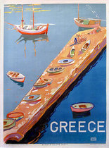 Greece Aegean Island Jetty