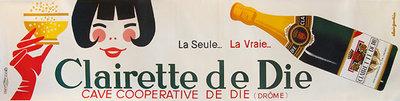 The Clairette de Die (Oversized Horizontal Panel)