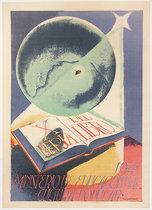 1947 Del Libro X Feria Ministerole and Educational Cultura Popular