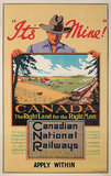 Canadian National Railways- It's Mine! The Right Land for the Right Man