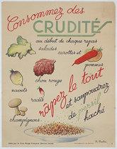 Consommez des Crudites (Crudités)