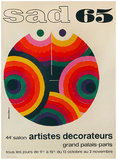Salon Artistes Decorateurs (SAD) Grand Palais Paris 1965