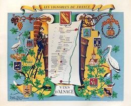 Les Vignobles de France Vins D'Alsace
