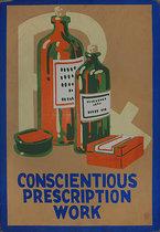 Pharmacy Card: Conscientious Prescription Work