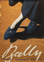Bally (Blue Shoes)