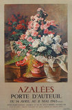 Azalees Porte D'Auteuil 1965