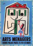 Arts Menagers (Happy House and Rose) 47x63