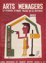 Arts Menagers (Auto sweeper Button) 47x63