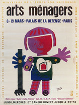 Arts Menagers (Robot with Heart/ 47x63)